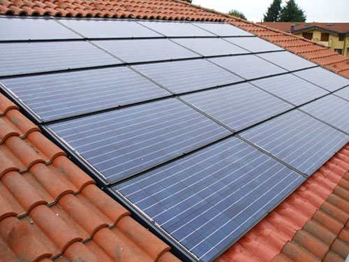 Impianto fotovoltaico civile