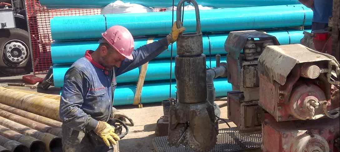 Impianti geotermici esecuzione pozzo geotermico