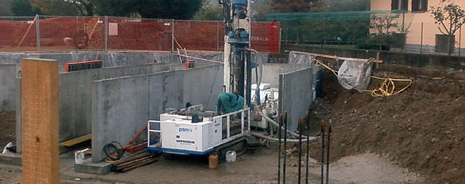 Impianti geotermici perforazione sonda 100 mt